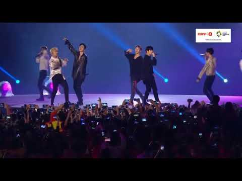 IKON - Love Scenario + Rhythm Ta At Closing Ceremony Asian Games 2018 080218