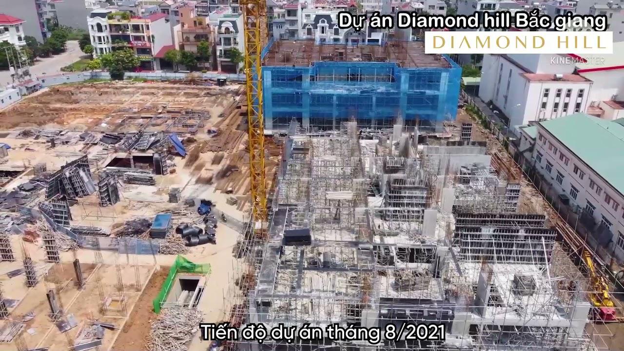 Tiến độ dự án tháng 8/2021