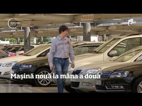 Un tânăr din Bucureşti a cumpărat o maşină nouă la mâna a doua