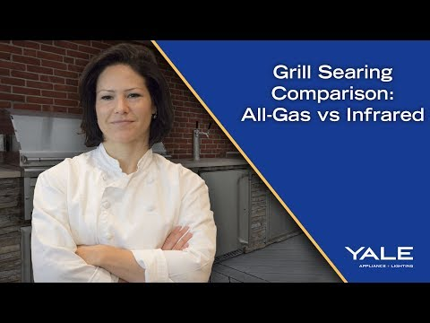 What's Better for Searing on a Grill? All-Gas or Infrared?