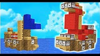 大海解說 我的世界建造我的國ep6 超級巨艦搞笑出海記