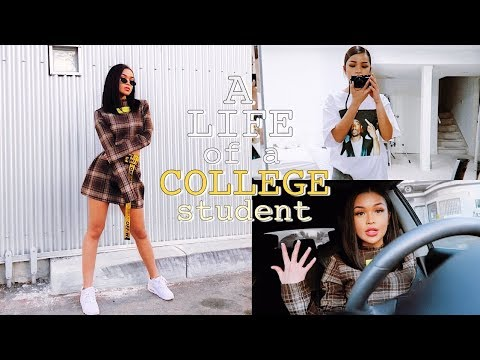 A WEEK IN MY LIFE IN COLLEGE ♡ What I Actually Wear to School?