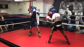 Chino vs Khalid Sparring Underdog Gym Montreal