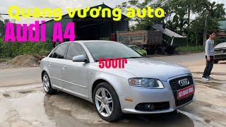 Audi A4 xe hạng sang Xăng ăn như civic Lh 0968109699