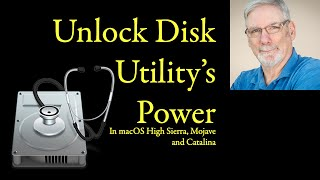 Unlock Disk Utility's Power in macOS 10.12 and higher