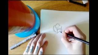 How To Draw A Simple Rose Tattoo Free Online Videos Best Movies Tv