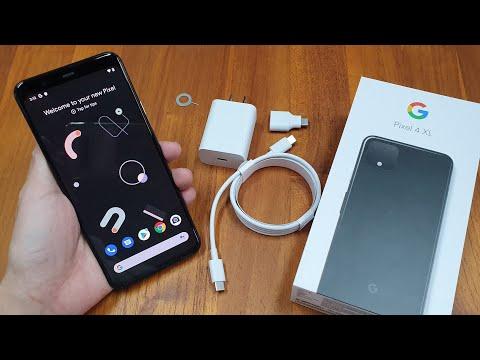 Pixel 4 XL純開箱|2019 Google旗艦手機終於來了!