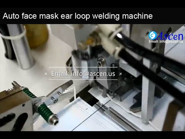ear loop medical mask welding machine