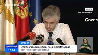 25/04: Ponto de Situação da Autoridade de Saúde Regional sobre o Coronavírus nos Açores