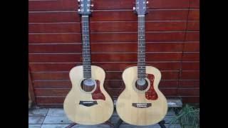 Guild Jumbo Junior vs Taylor GS Mini Guitar Review