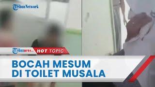 Detik-detik Pasangan Bocah Mesum di Toilet Musala di Pekalongan Digerebek, Warga Sampai Naik ke Atap