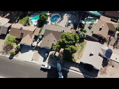 DJI Mavic Pro/FPV Goggles - Phoenix Early Morning Neighbor Bringing In Concrete