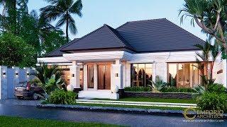 Video Desain Rumah Villa Bali 1 Lantai Bapak Marno di  Jambi