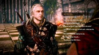 The Witcher 2 - Letho Ending Dialogue (EN)