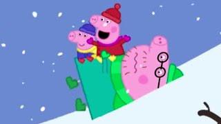 Peppa Pig Español Capitulos Completos -Día de inviernos fríos-Episodios de Navidad- Dibujos Animados