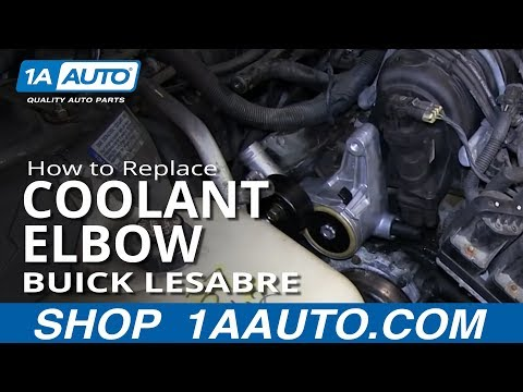 How to Replace Coolant Elbow 96-05 Buick LeSabre