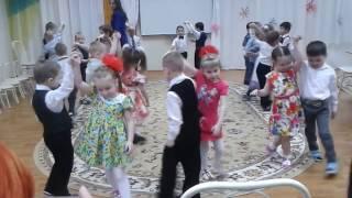 """Танец по парочкам. Группа """"Капельки"""", 10 марта"""