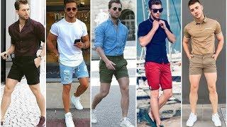 Mens Shorts Style 2020   Latest Stylish Shorts Pant Outfits   Mens Fashion & Style 2020