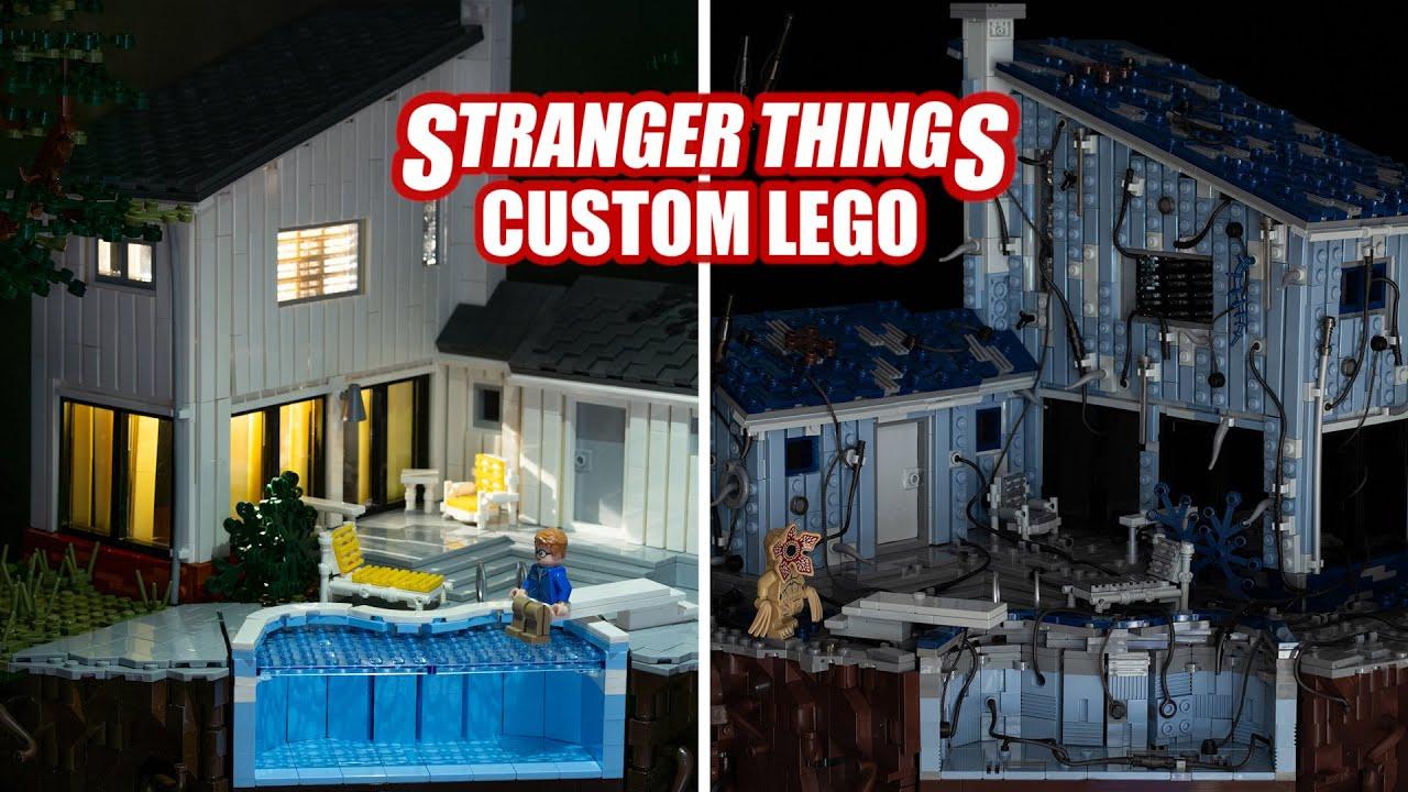 Barb's Disappearance Scene | LEGO Stranger Things
