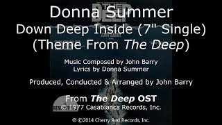 "Donna Summer - Down Deep Inside LYRICS 7"" Single Remastered ""The Deep"" OST 1977"