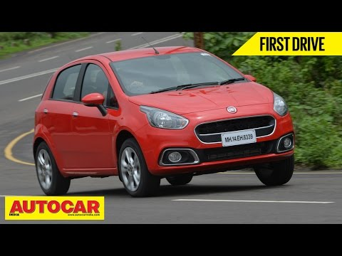 2014 Fiat Punto Evo | First Drive Video Review | Autocar India