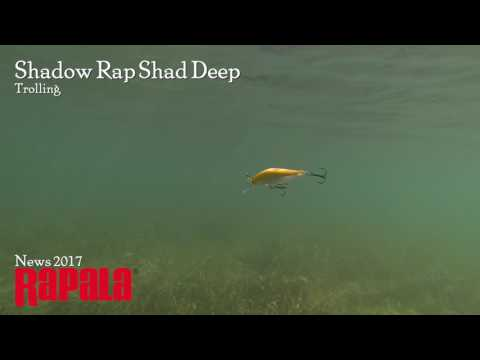 Воблер Rapala Shadow Rap Shad Deep SDRSD09 HLW фото №2