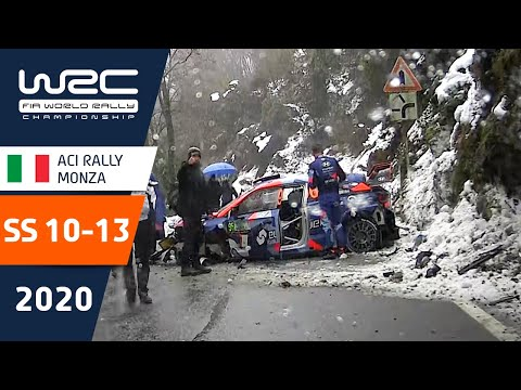 WRC第7戦ラリー・モンツァ SS10-13のハイライト動画