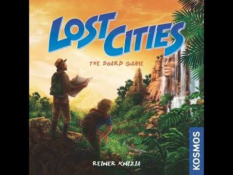 Dad vs Daughter - Lost Cities: The Board Game