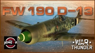 War Thunder Premium Review: Fw 190 D-13 [The Beast Reborn!]