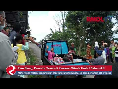 Kecelakaan Maut, Vario Rem Blong Pengendara Tewas di Kawasan Umbul Sidomukti