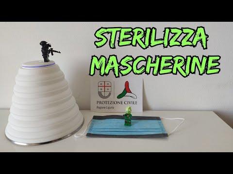 Sterilizzatore pieghevole per Mascherine ( e molto altro!) a RAGGI UVC Mahaton Xiaomi