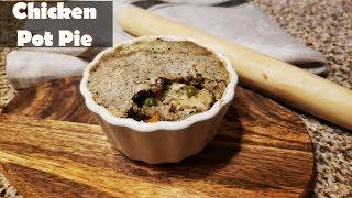 How To Make Keto Chicken Pot Pie | Keto Chicken Pot Pie Recipe