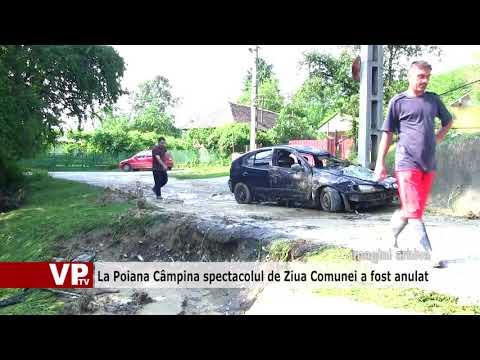 La Poiana Câmpina spectacolul de Ziua Comunei a fost anulat