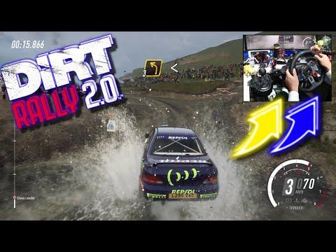 Subaru Impreza Rally Wales / Logitech G29 DiRT Rally 2.0