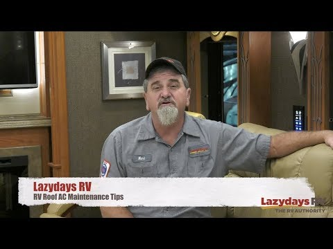 RV Roof AC Maintenance Tips