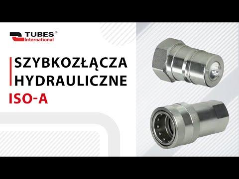 Szybkozłącza hydrauliczne ISO A - zdjęcie