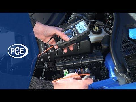 Wie prüfe ich KFZ / Auto Sicherungen ohne diese zu entnehmen? | PCE Instruments
