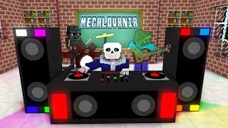 Monster School : UNDERTALE MEGALOVANIA SONG - Minecraft Animation