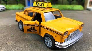 Мультики про машинки. Машинку такси похитил Грабитель