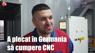 S-a Dus în Germania Să Cumpere CNC