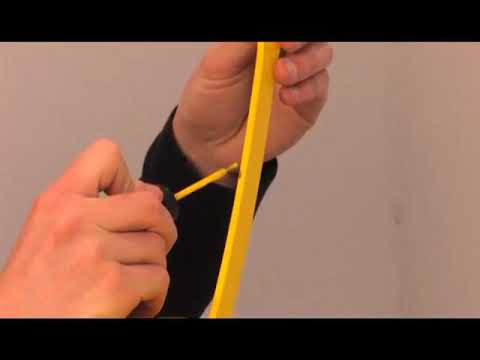 Fermob - Anwendung des Lackstiftes