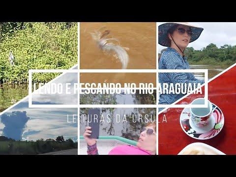 VLOG 01: Lendo e pescando no Rio Araguaia/Resenha de Os homens que não amavam as mulheres