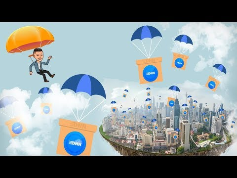 Ganhe fácil e rápido $20 dólares no Airdrop da DNN !