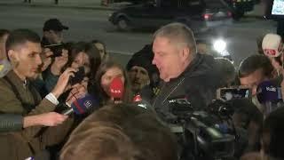 """Затримання чоловіка, що погрожував підірвати міст """"Метро"""" у Києві"""