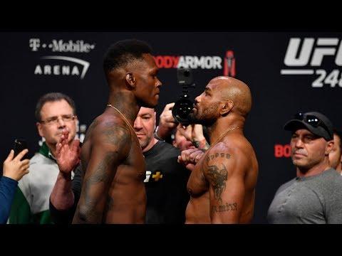 Highlights de la pesée des 2 combats principaux de l'UFC 248