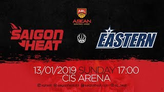 ABL9 || Home - Game 12: Saigon Heat vs Hong Kong Eastern 13/01 | Full Game Replay