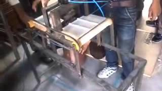 pneumatic punching machine mech. project