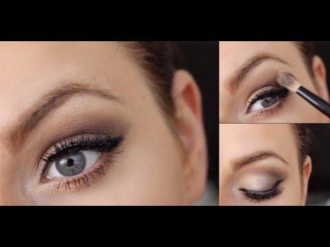 Blaue augen schminken leicht gemacht - Dezent augen schminken ...