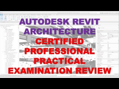 AUTODESK REVIT ARCHITECTURE CERTIFIED PROFESSIONAL ...