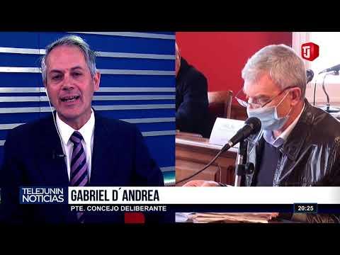 PRESIDENTE CONCEJO DELIBERANTE - GABRIEL D´ANDREA